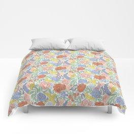Bird Floral Comforters