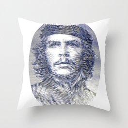 Che Guevara Dollar Throw Pillow