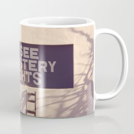 See Mystery Lights - Marfa, Texas Coffee Mug