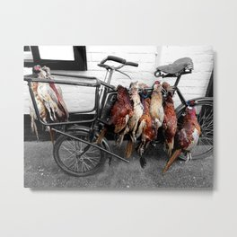 butcher's bike Metal Print