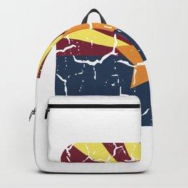 Arizona Phoenix USA Flag City Sign Gift Backpack