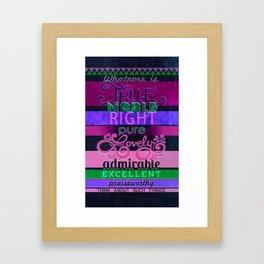 Lovely Framed Art Print