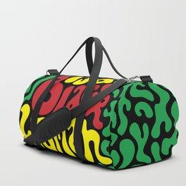 God is a Black Woman Duffle Bag