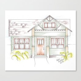 Green Craftsman Canvas Print