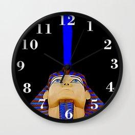 Tutankhamun's Mind Wall Clock