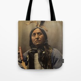 Left Hand Bear, Oglala Sioux chief Tote Bag