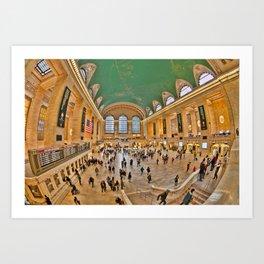 Grand Central Terminal/NYC Art Print