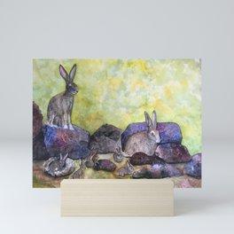 Jack's Family by Maureen Donovan Mini Art Print