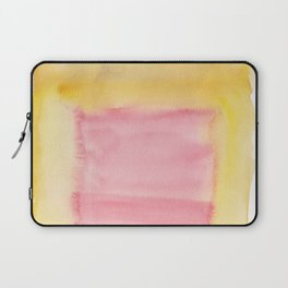 180815 Watercolor Rothko Inspired 8| Colorful Abstract | Modern Watercolor Art Laptop Sleeve