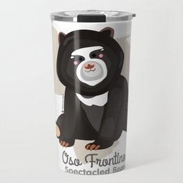 Oso Frontino/Spectacled Bear Travel Mug