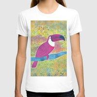 toucan T-shirts featuring Toucan by Eliana Bertola