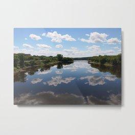 Jacques Cartier Bridge Metal Print