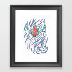 Ominous Wind Framed Art Print