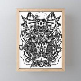 Totem Framed Mini Art Print