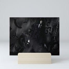 Black Butler Mini Art Print
