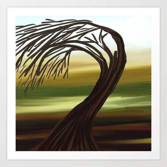 Tree - analog Zine Art Print