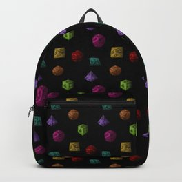 Rainbow Gaming Polyhedron Dice Backpack