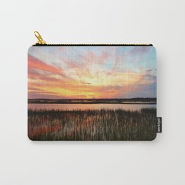 Sunset And Reflections Carry-All Pouch