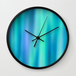 Mermaid Lake - Blue Green Aesthetic Wall Clock
