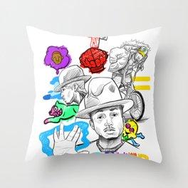 Pharrell's Culture Throw Pillow