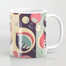 50's floral pattern II Mug