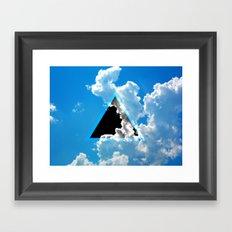 Void in the Sky Framed Art Print