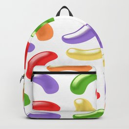 Jelly Beans Design Backpack
