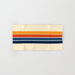 Classic Retro Stripes Hand & Bath Towel