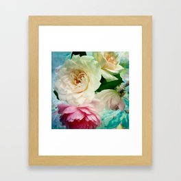 Vintage Chintz Framed Art Print
