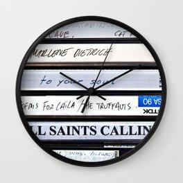 All Saints Calling Wall Clock