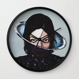 MJ, xscape, painting Wall Clock