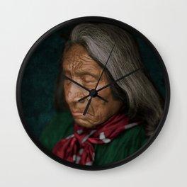 Red Cloud - Oglala American Indian Wall Clock