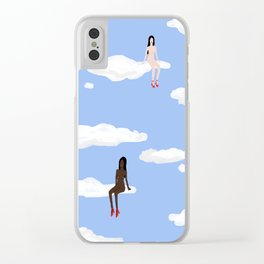 All Strippers Go To Heaven Clear iPhone Case
