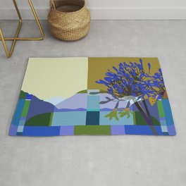 African Lily of the Nile Rug