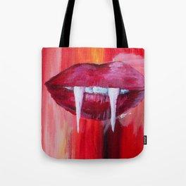 Vamp Lips Tote Bag
