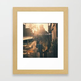 my friend Framed Art Print