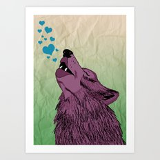 Howlin' for your Love Art Print