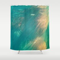 mermaid Shower Curtains featuring Mermaid by Paul Kimble