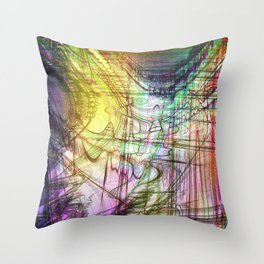 convenient shirt pattern IV Throw Pillow