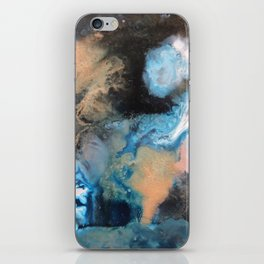 A Ghostly Moon iPhone Skin