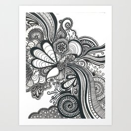 Doodle 1 Art Print