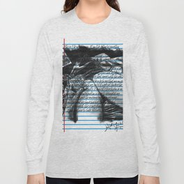 Loose Leaf Doodles: Distractions Long Sleeve T-shirt