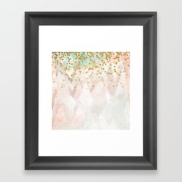 Mountains are high Framed Art Print
