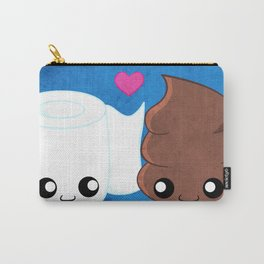 The Best of Friends - Toilet Paper and Poop Carry-All Pouch