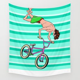 BMX Freestyle Wall Tapestry