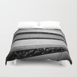 Steel Bars Duvet Cover