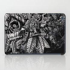 Aztec Great Lizard Warrior 1 (Triceratops) iPad Case