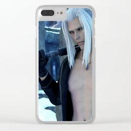 [Xedas] - Half Elf - Half Vampire - Sciense Fiction Fantasy - 3D Render Clear iPhone Case