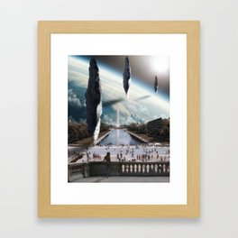 Do Not Look For Them In Space, But In Time Framed Art Print