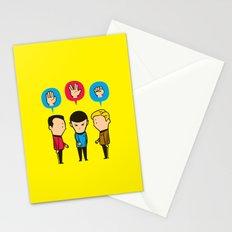 Paper - Scissors - Rock Stationery Cards